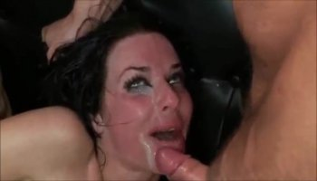 Horny milf toy fucks her hairy pussy to orgasm