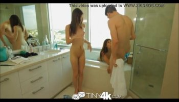 Clara G and Danielle Derek play with double dong